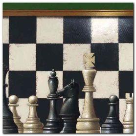 Chess plakat obraz 30x30cm