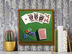 Poker plakat obraz 30x30cm (3)