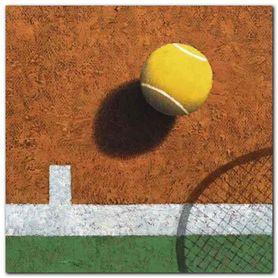 Tennis plakat obraz 30x30cm