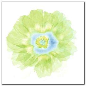 Fleur Verte plakat obraz 30x30cm