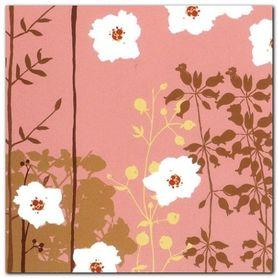 Falling Blossoms I plakat obraz 30x30cm