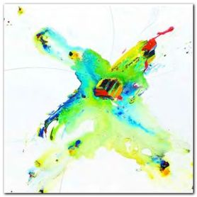 Flying Colours II plakat obraz 30x30cm