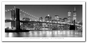 Brooklyn Bridge plakat obraz 100x50cm