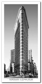 Flatiron Building plakat obraz 50x100cm