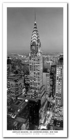 Chrysler Building plakat obraz 50x100cm