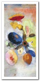Fleurs plakat obraz 50x100cm