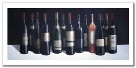 Winescape plakat obraz 100x50cm