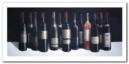 Winescape plakat obraz 100x50cm (1)