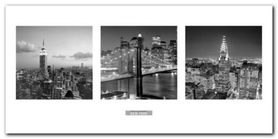 Views Of New York I plakat obraz 100x50cm