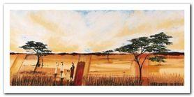 Bhundu Landscape I plakat obraz 100x50cm