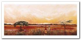 Bhundu Landscape III plakat obraz 100x50cm