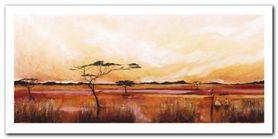 Bhundu Landscape IV plakat obraz 100x50cm