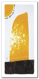 Yellow Cat plakat obraz 50x100cm