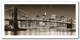 Brooklyn Bridge plakat obraz 100x50cm