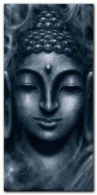 Shiva In Blue plakat obraz 50x100cm