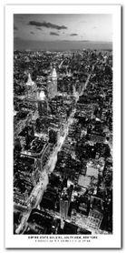 Empire State B. plakat obraz 50x100cm