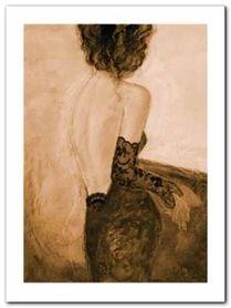 Lingerie II plakat obraz 60x80cm