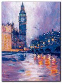 Big Ben, London plakat obraz 60x80cm
