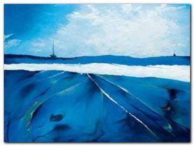 Incandescent Seascape plakat obraz 80x60cm