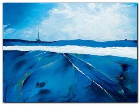 Incandescent Seascape plakat obraz 80x60cm (1)