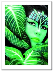 Amazona The Jungle plakat obraz 60x80cm