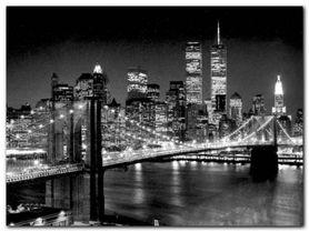Brooklyn Bridge plakat obraz 80x60cm