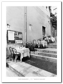 Tables On The Steps plakat obraz 60x80cm