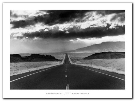 Highway 33 plakat obraz 80x60cm (1)