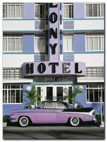 Miami South Beach plakat obraz 60x80cm