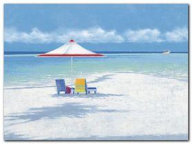 Beach Life I plakat obraz 80x60cm