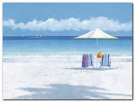 Beach Life II plakat obraz 80x60cm