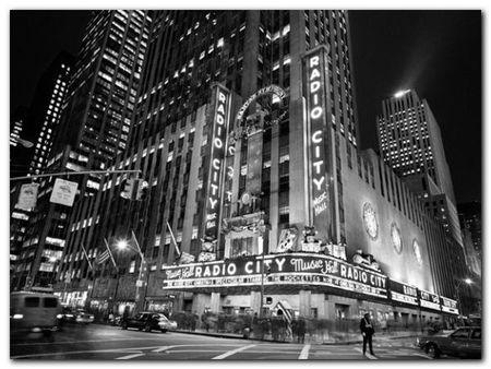 Radio City Music Hall plakat obraz 80x60cm (1)