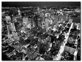 Empire State B. plakat obraz 80x60cm