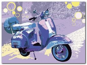 Vintage Vespa plakat obraz 80x60cm