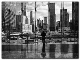 Looking At Ground Zero plakat obraz 80x60cm