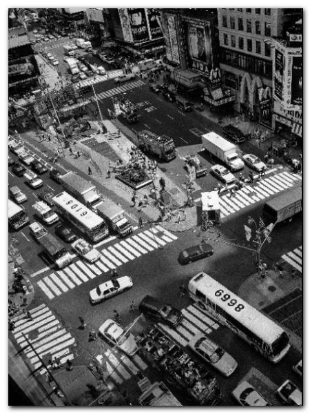 Times Square Crossing plakat obraz 60x80cm (1)