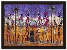 Gathering In Kalahari plakat obraz 80x60cm (1)