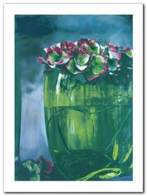 The Green Vase plakat obraz 60x80cm
