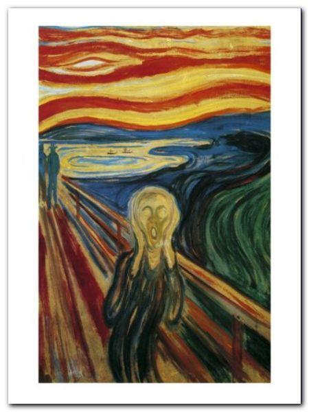 The Scream plakat obraz 60x80cm (1)