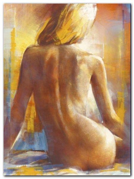 Nu De Dos I plakat obraz 60x80cm (1)