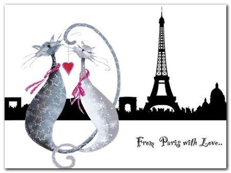 From Paris plakat obraz 80x60cm (1)