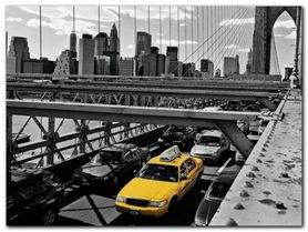 Brooklyn Bridge plakat obraz 80x60cm