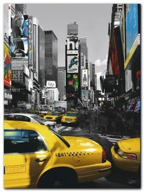 Rush Hour On Broadway plakat obraz 60x80cm