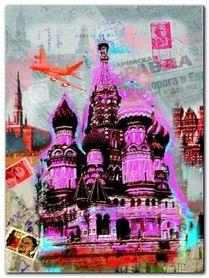 Moscow Vintage plakat obraz 60x80cm