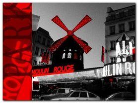 Moulin Rouge plakat obraz 80x60cm