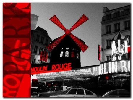 Moulin Rouge plakat obraz 80x60cm (1)