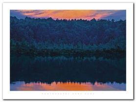 Gabriel Lake Ny plakat obraz 80x60cm