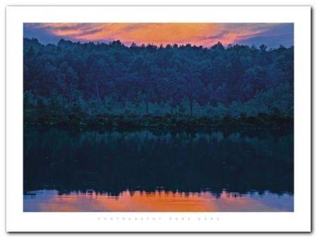 Gabriel Lake Ny plakat obraz 80x60cm (1)