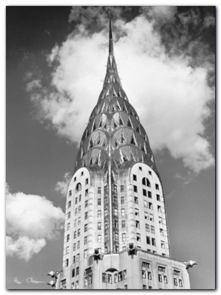 Chrysler Building plakat obraz 60x80cm (1)