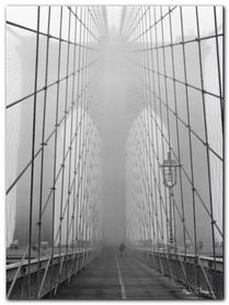 Brooklyn Bridge plakat obraz 60x80cm